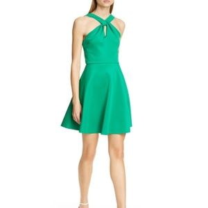 Ted Baker Freeda Dress in Green Sz. 1